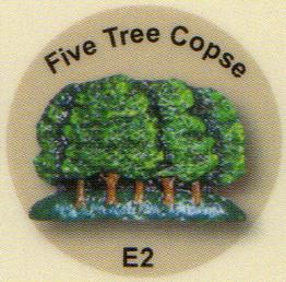 E2 5本の木