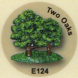 E124 2本のオーク