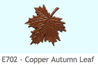 E702 秋の葉(銅色)