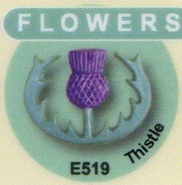 E519 アザミ(スコットランドの国花)