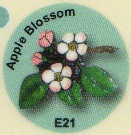 E21 りんごの花