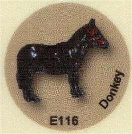 E116 ロバ