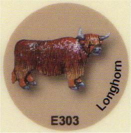 E303 ロングホーン(牛)