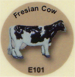 E101 牛(ホルスタイン種)