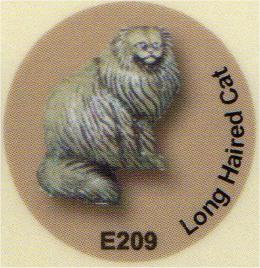E209 毛の長い猫