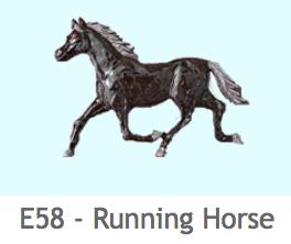 E58 馬(走り姿)