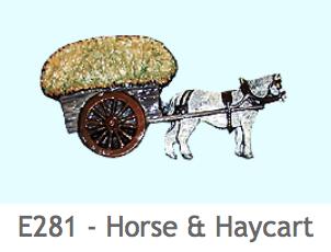 E281 馬と荷車